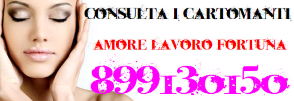 Cartomanti D'italia 899130150